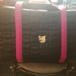 NWOT Betsey Johnson weekender bag